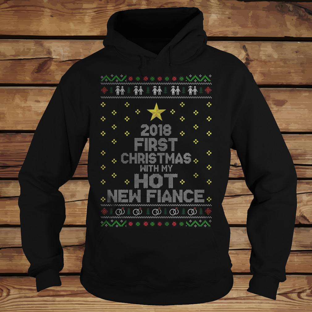 2018 First Christmas With My Hot New Finance shirt Hoodie