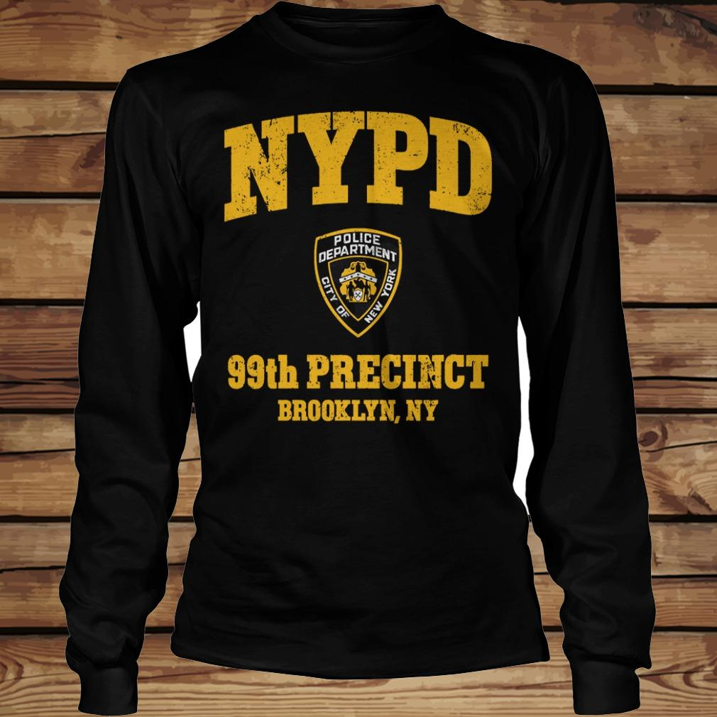 99th Precinct Brooklyn NY Police Department NYPD shirt Longsleeve Tee Unisex