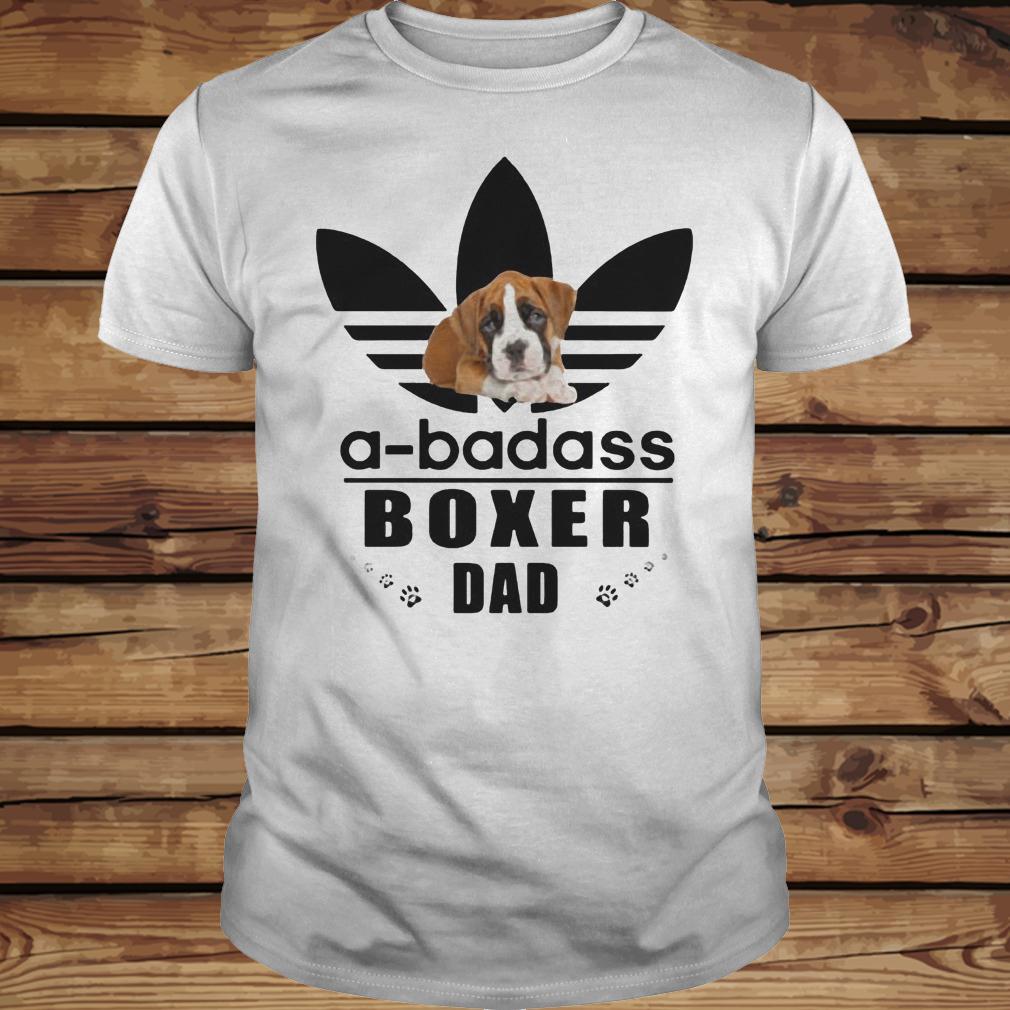 A-Badass Boxer Dad shirt Classic Guys / Unisex Tee