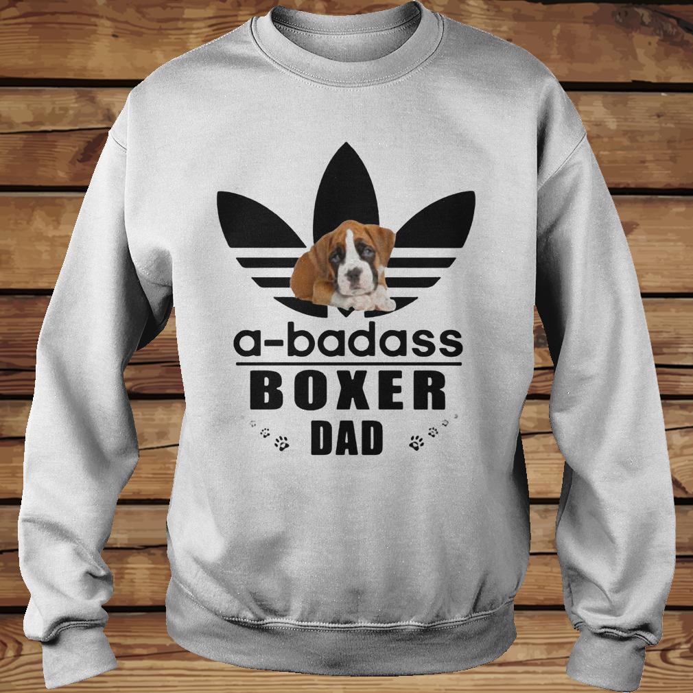 A-Badass Boxer Dad shirt