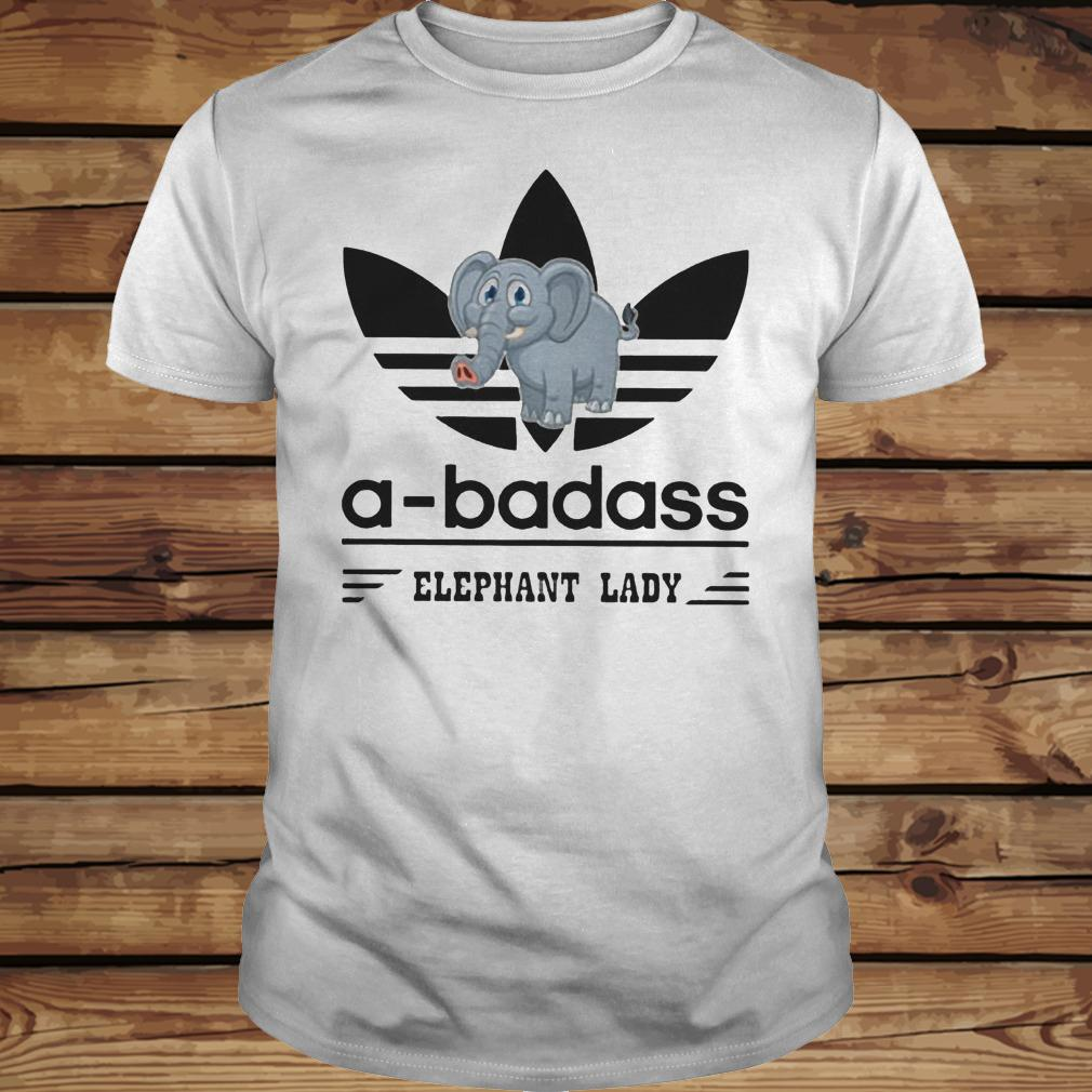 A-Badass Elephant Lady shirt Classic Guys / Unisex Tee