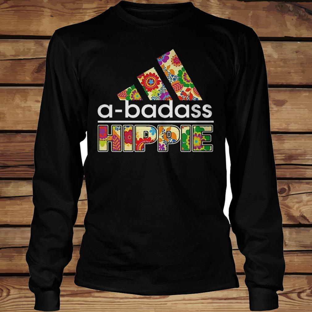 A-Badass Hippie shirt Longsleeve Tee Unisex