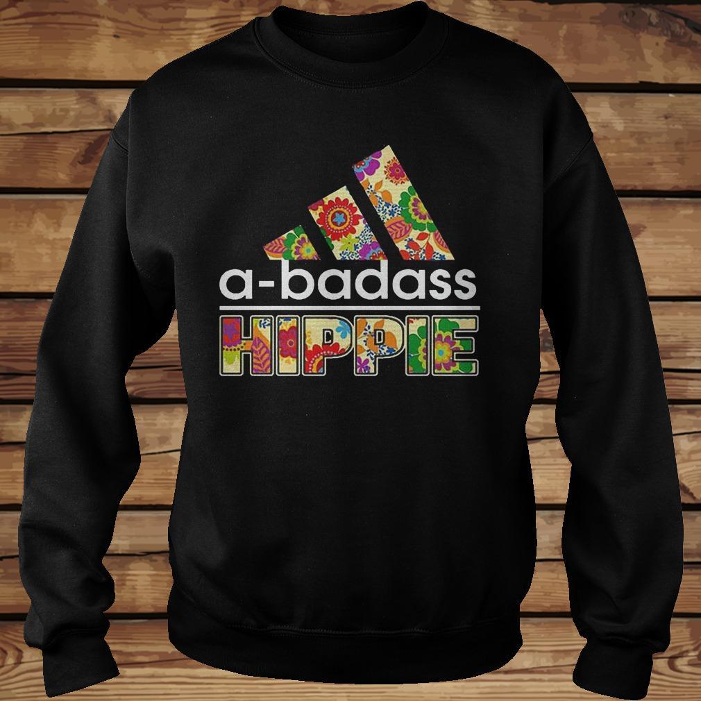 A Badass Hippie Shirt Sweatshirt Unisex.jpg