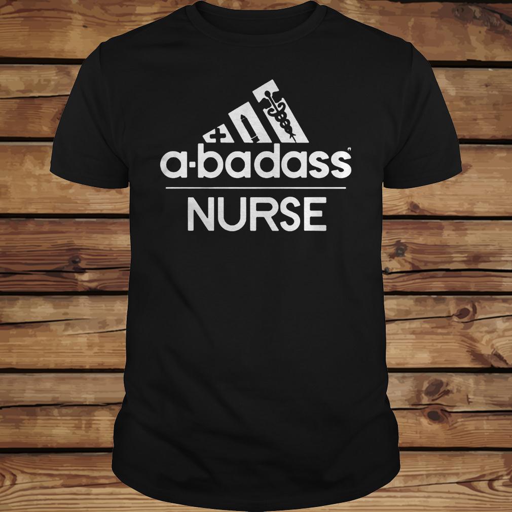 A-Badass Nurse shirt Classic Guys / Unisex Tee