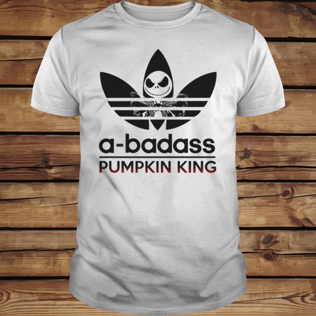 A-Badass Pumpkin King - Jack Skellington shirt Classic Guys / Unisex Tee
