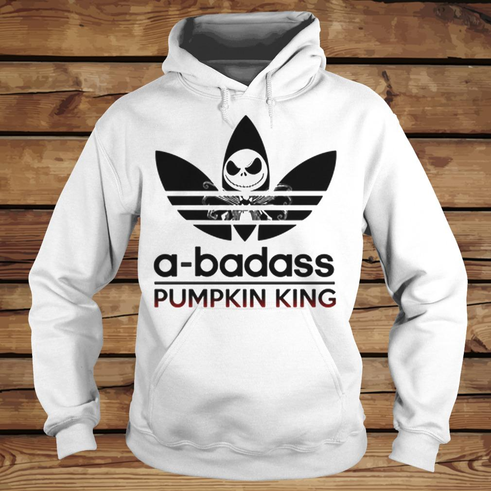 A-Badass Pumpkin King - Jack Skellington shirt Hoodie