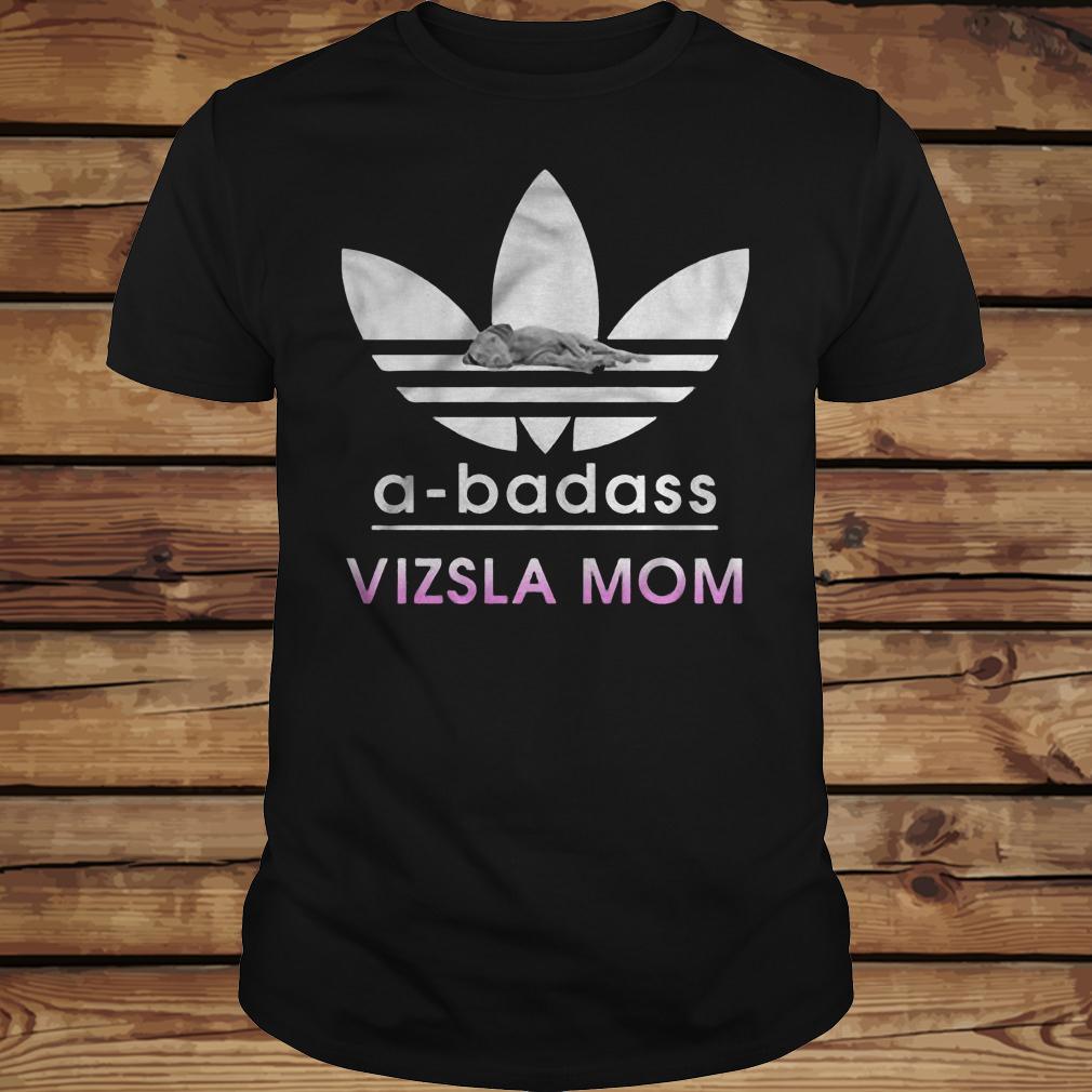 A-Badass Vizsla Mom shirt Classic Guys / Unisex Tee