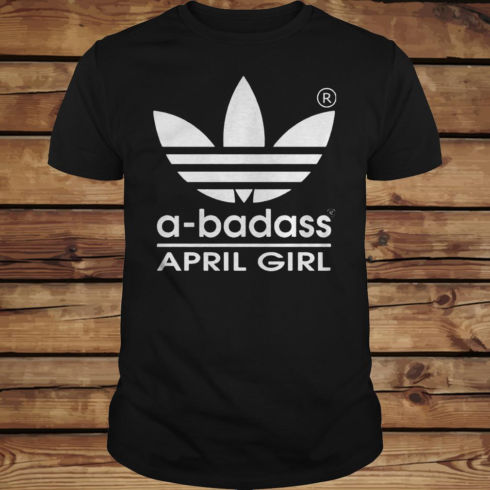 A-badass April Girl shirt Classic Guys / Unisex Tee
