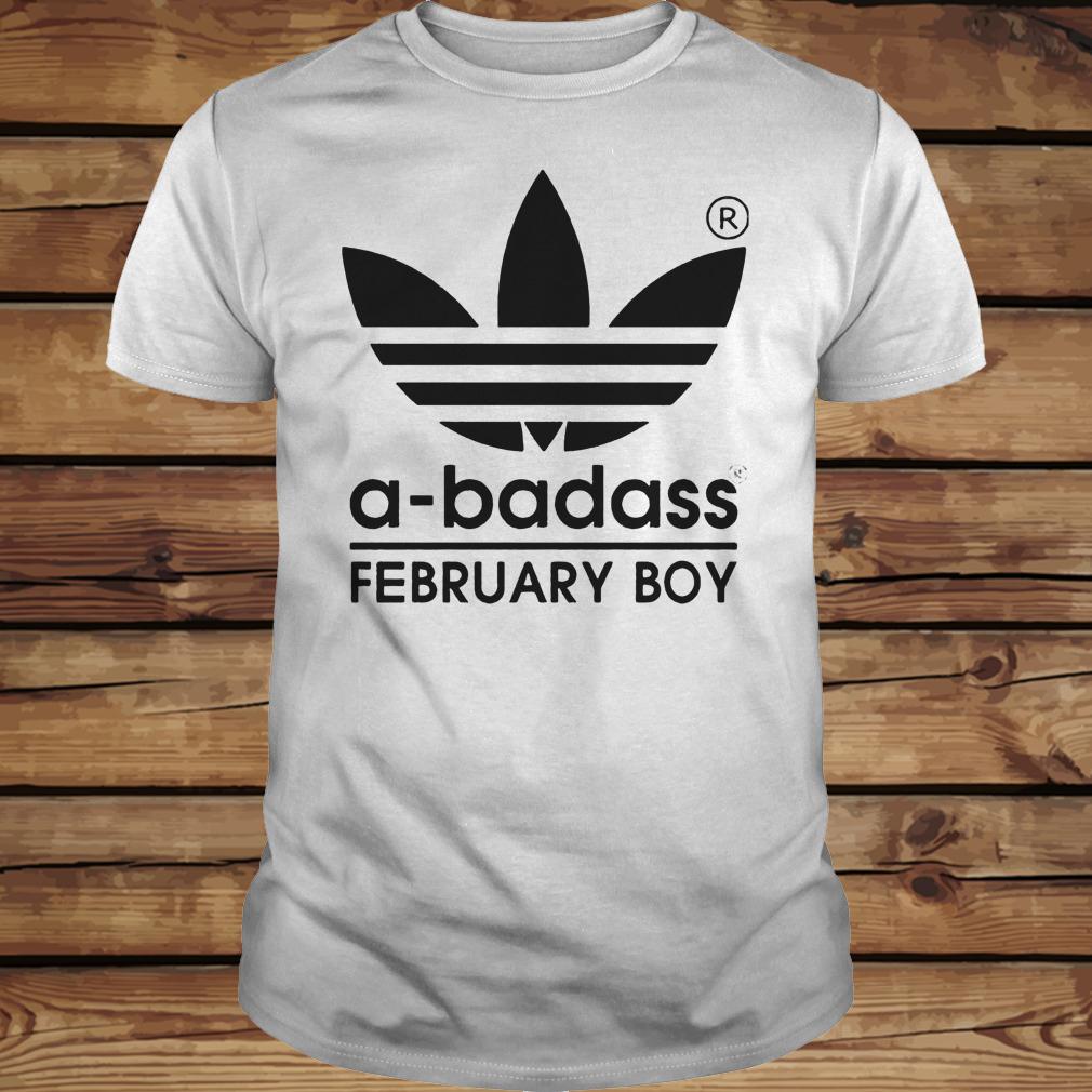 A-badass February Boy shirt Classic Guys / Unisex Tee