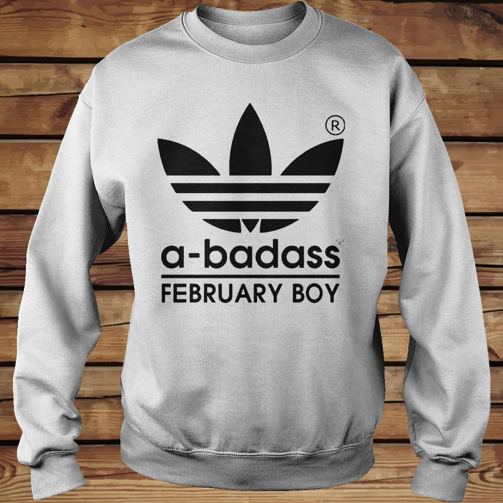 A-badass February Boy shirt