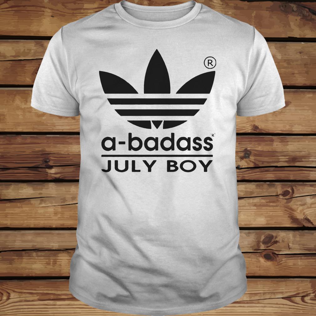 A-badass July Boy shirt Classic Guys / Unisex Tee
