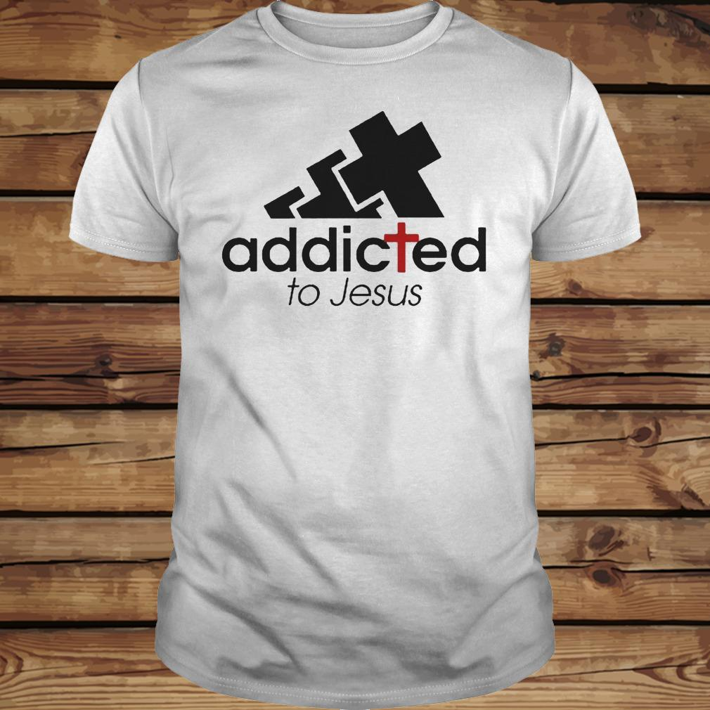 Addicted To Jesus shirt Classic Guys / Unisex Tee