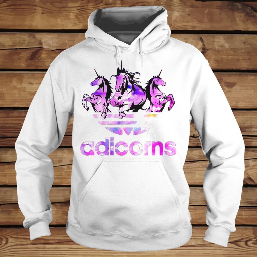 Adicorns Adidas And Unicorn shirt Hoodie
