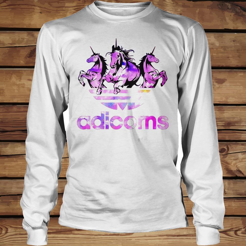 Adicorns Adidas And Unicorn shirt Longsleeve Tee Unisex