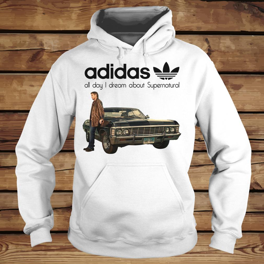 Adidas All Day I Dream About Supernatural shirt Hoodie