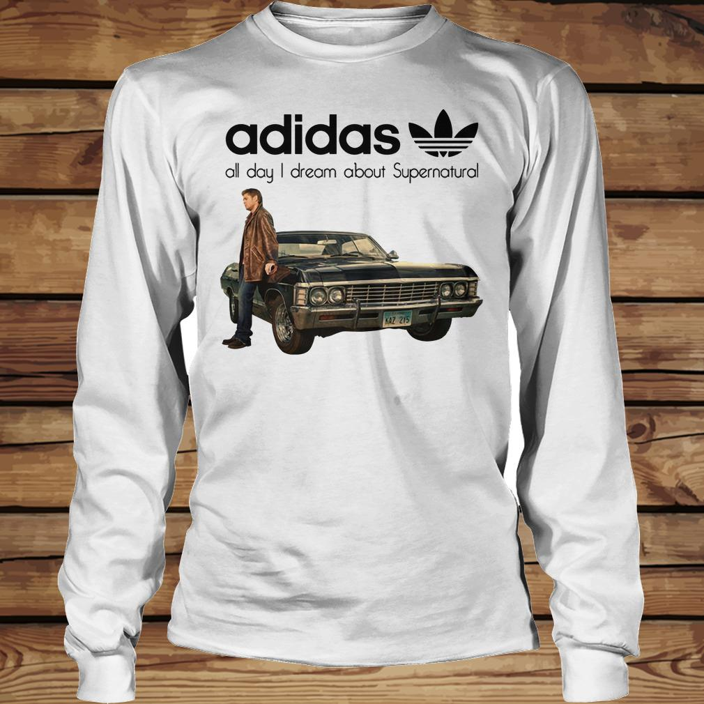 Adidas All Day I Dream About Supernatural shirt Longsleeve Tee Unisex