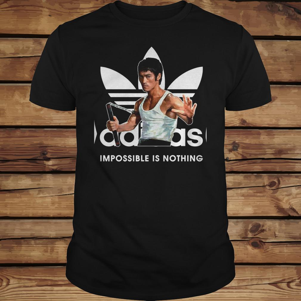 Adidas Impossible Is Nothing shirt Classic Guys / Unisex Tee