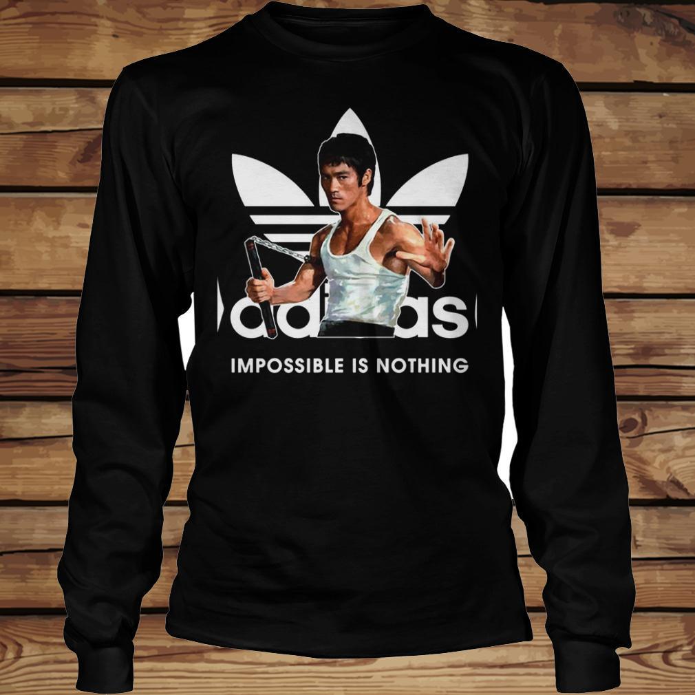 Adidas Impossible Is Nothing shirt Longsleeve Tee Unisex