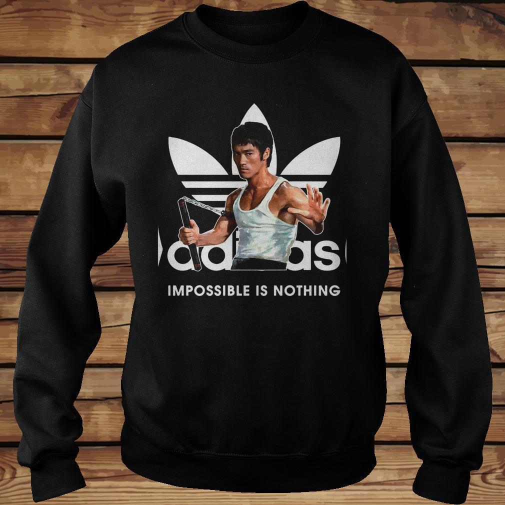 Adidas Impossible Is Nothing Shirt Sweatshirt Unisex.jpg