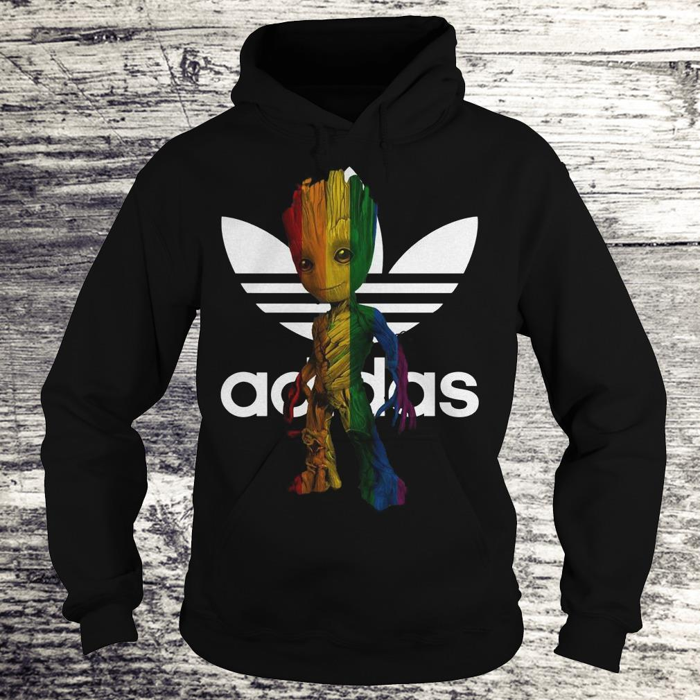 Adidas With LGBT Groot Shirt Hoodie