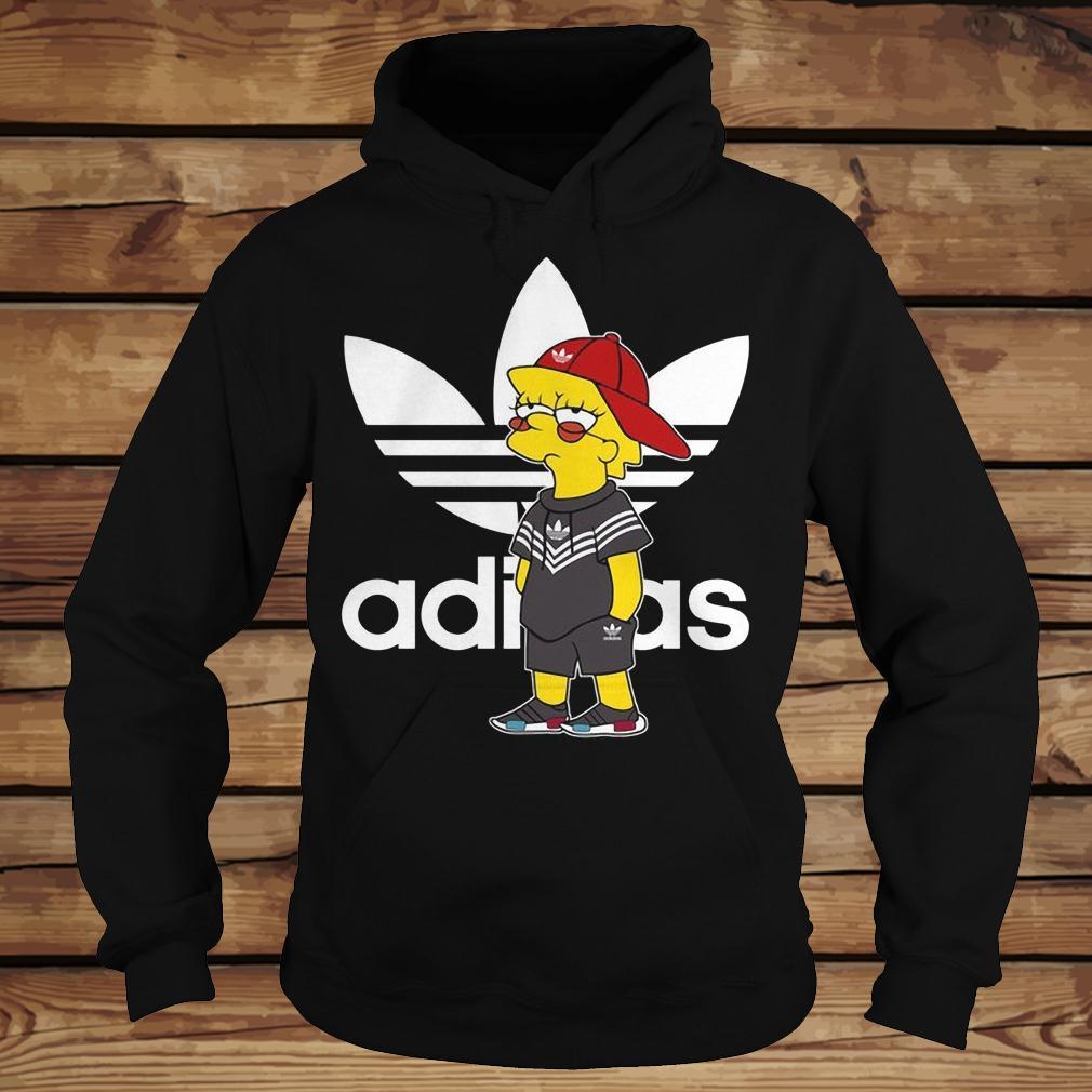 Bart Simpson And Adidas Brand shirt Hoodie