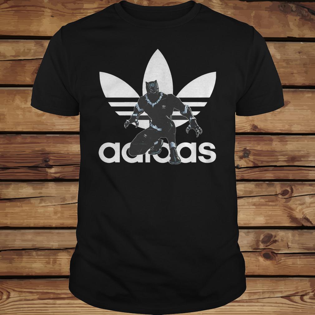 Black Panther Adidas shirt Classic Guys / Unisex Tee