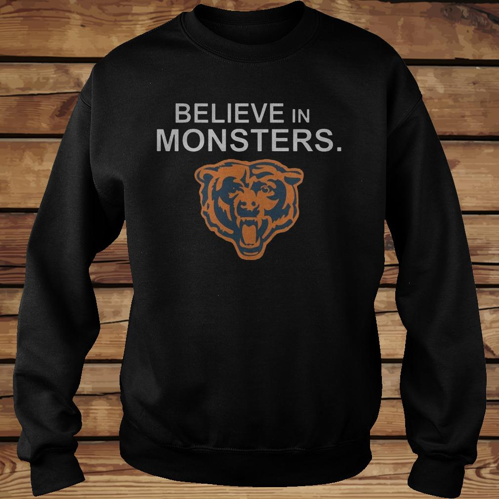 Chicago Bears Believe In Monsters shirt