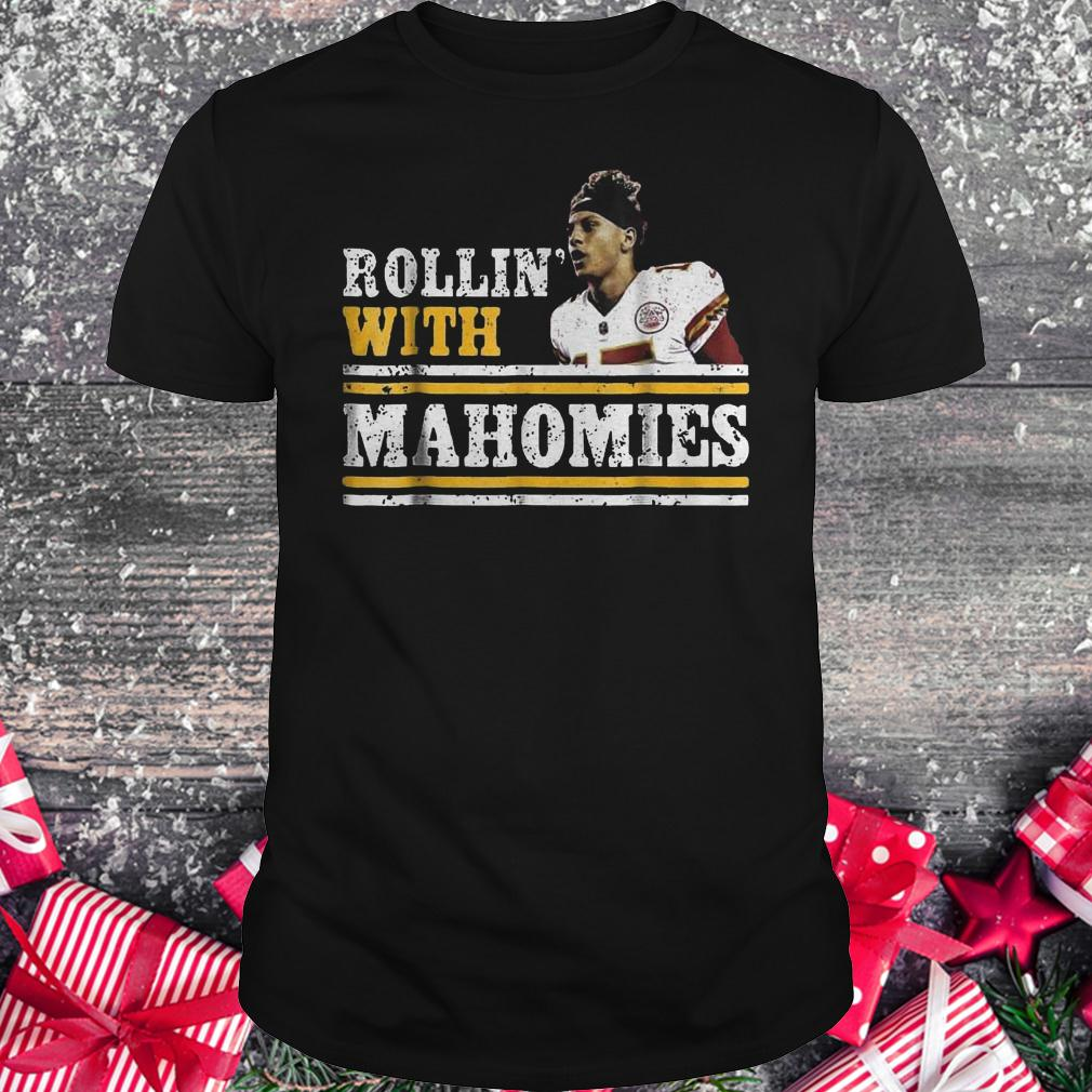 Chiefs Kingdom Cave Rollin' With Mahomies Funny shirt