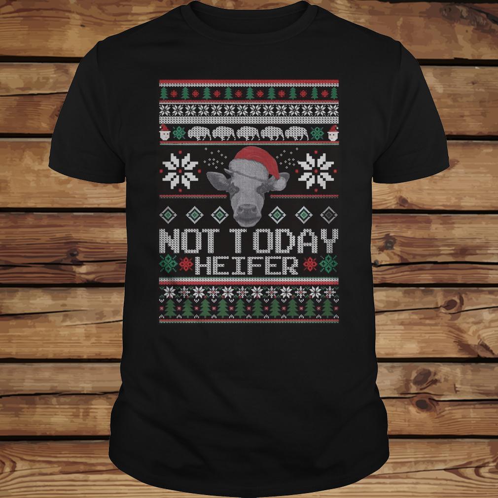Christmas Not Today Heifer shirt Classic Guys / Unisex Tee