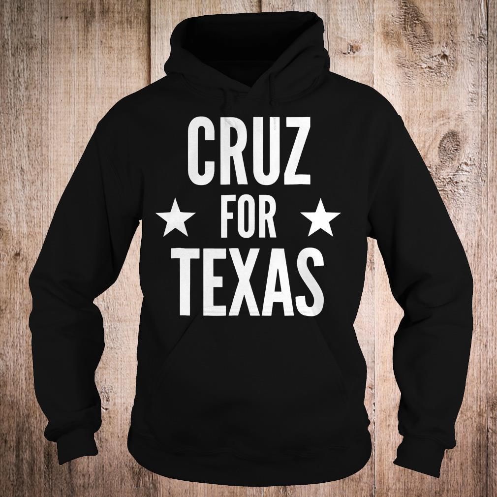 Cruz for Texas shirt Hoodie