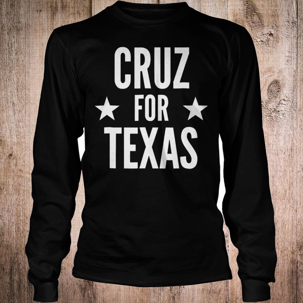 Cruz for Texas shirt Longsleeve Tee Unisex