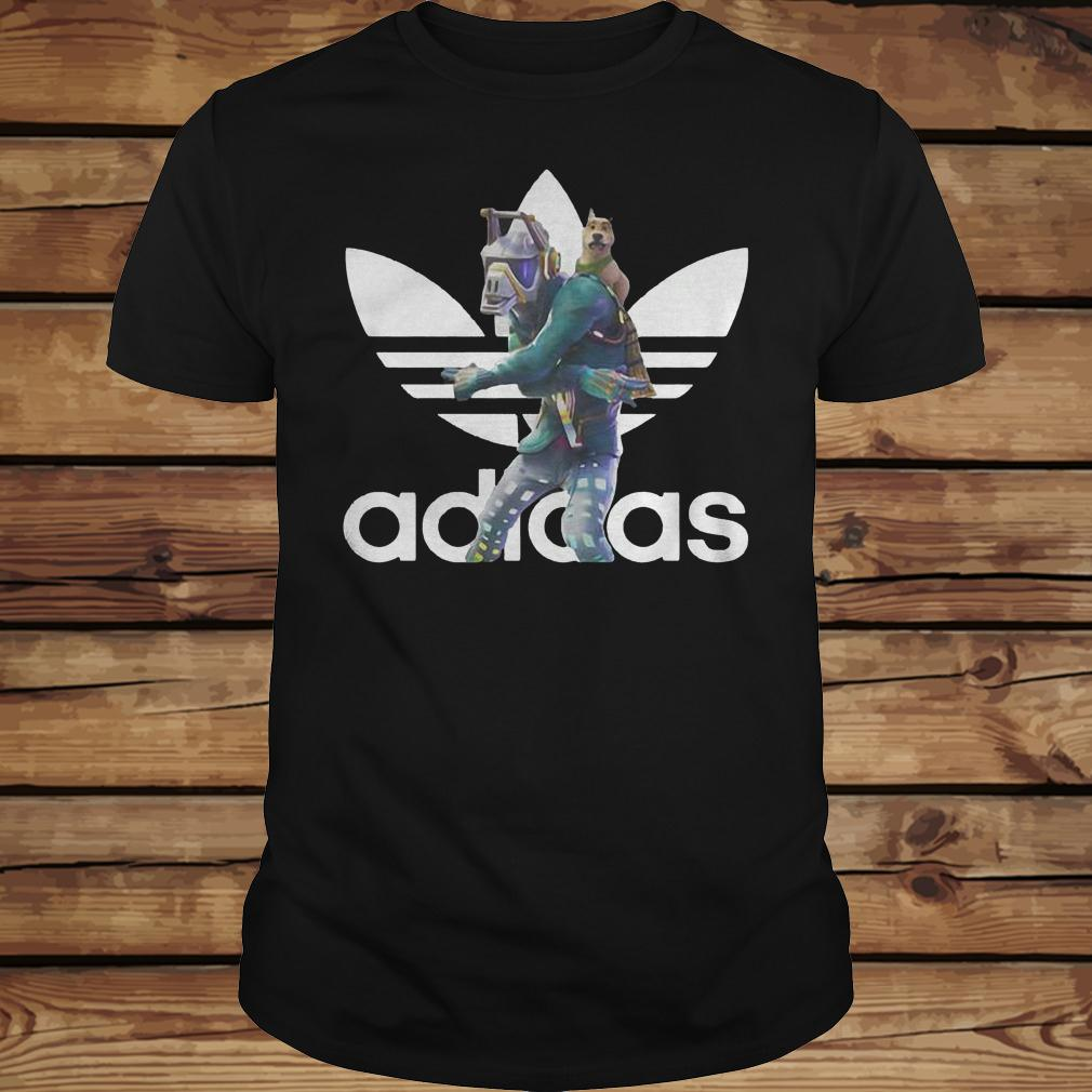Dancer Adidas Battle Pass Fortnite shirt Classic Guys / Unisex Tee