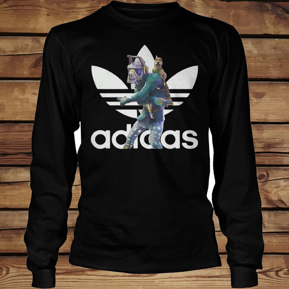 Dancer Adidas Battle Pass Fortnite shirt Longsleeve Tee Unisex
