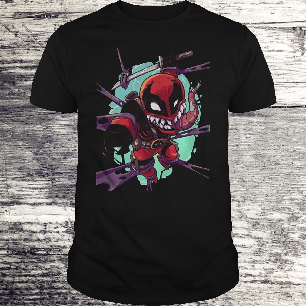 Deadvenom Deadpool X Venom Mashup Shirt Classic Guys / Unisex Tee