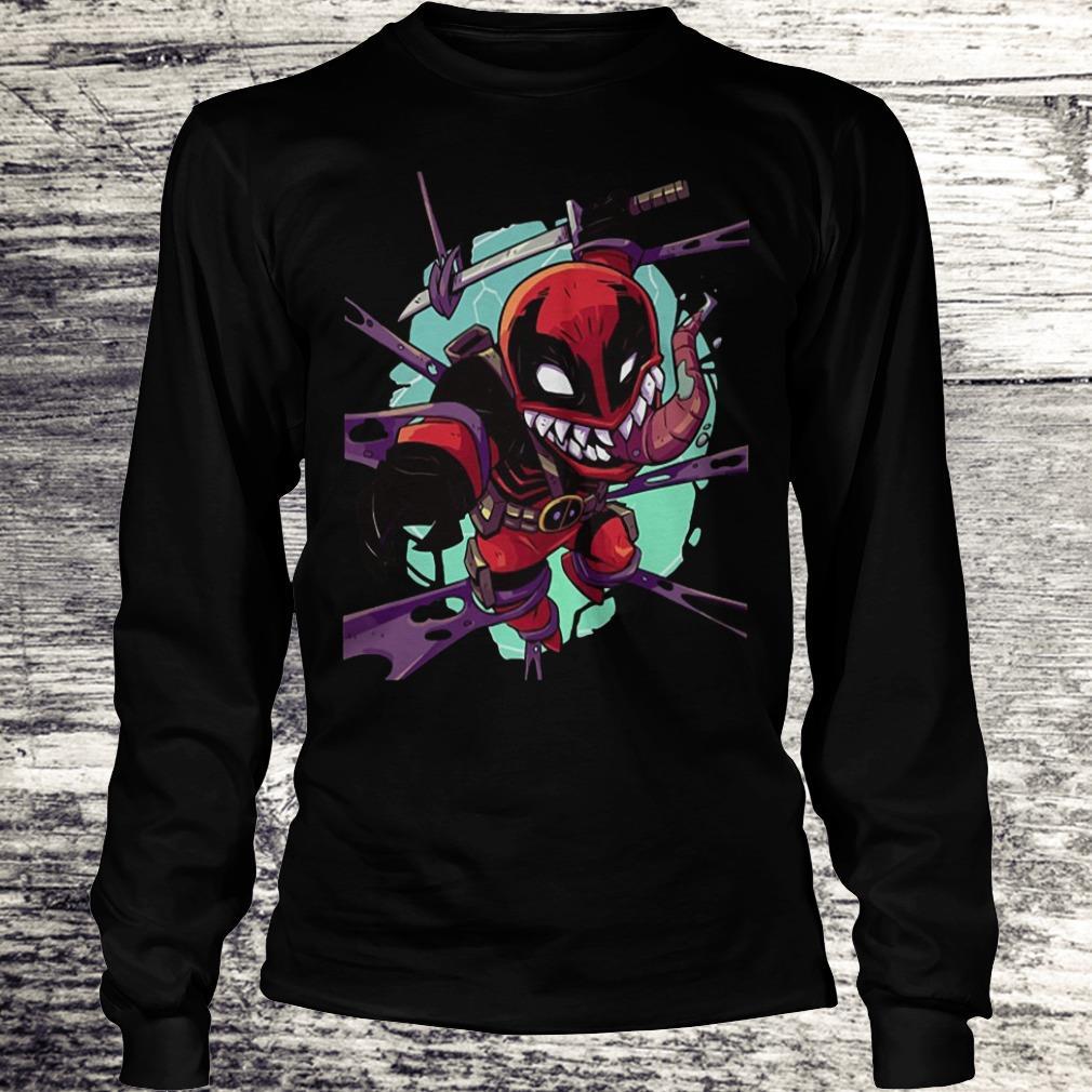 Deadvenom Deadpool X Venom Mashup Shirt Longsleeve Tee Unisex