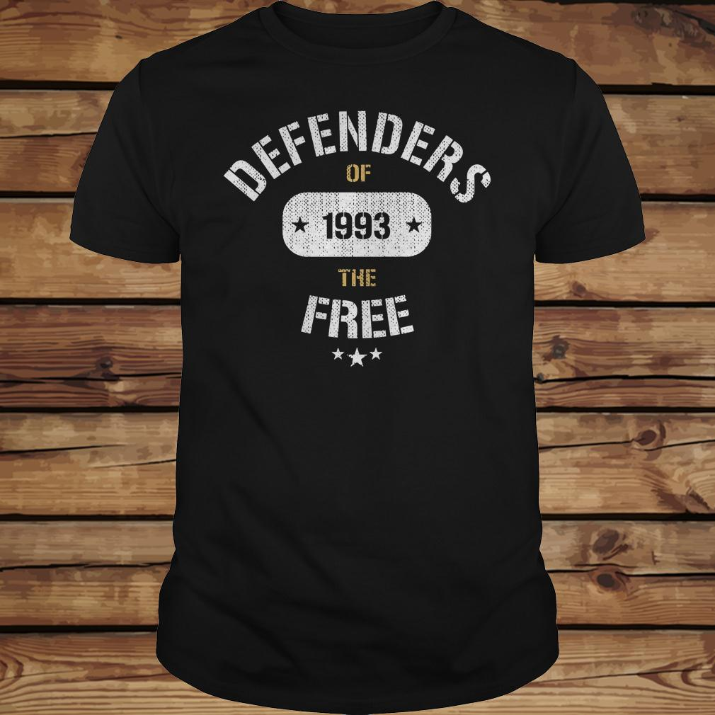 Defenders of 1993 the free shirt Classic Guys / Unisex Tee