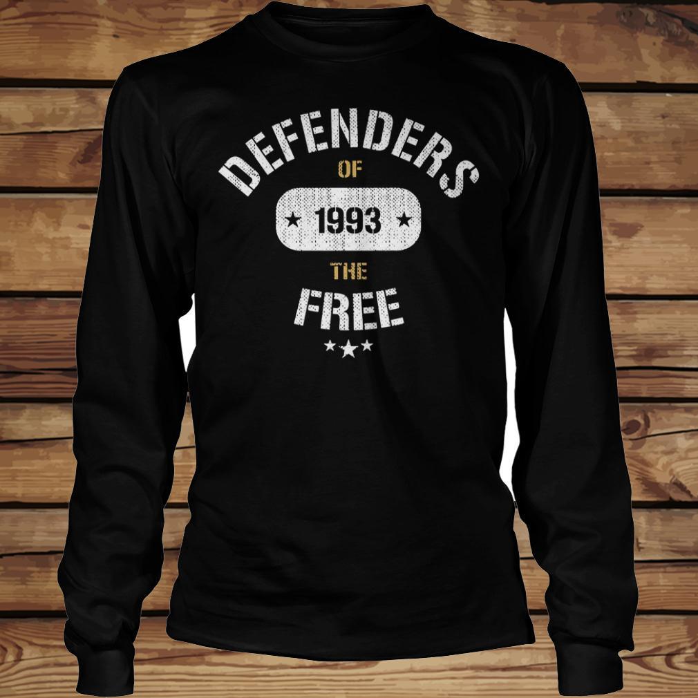 Defenders of 1993 the free shirt Longsleeve Tee Unisex