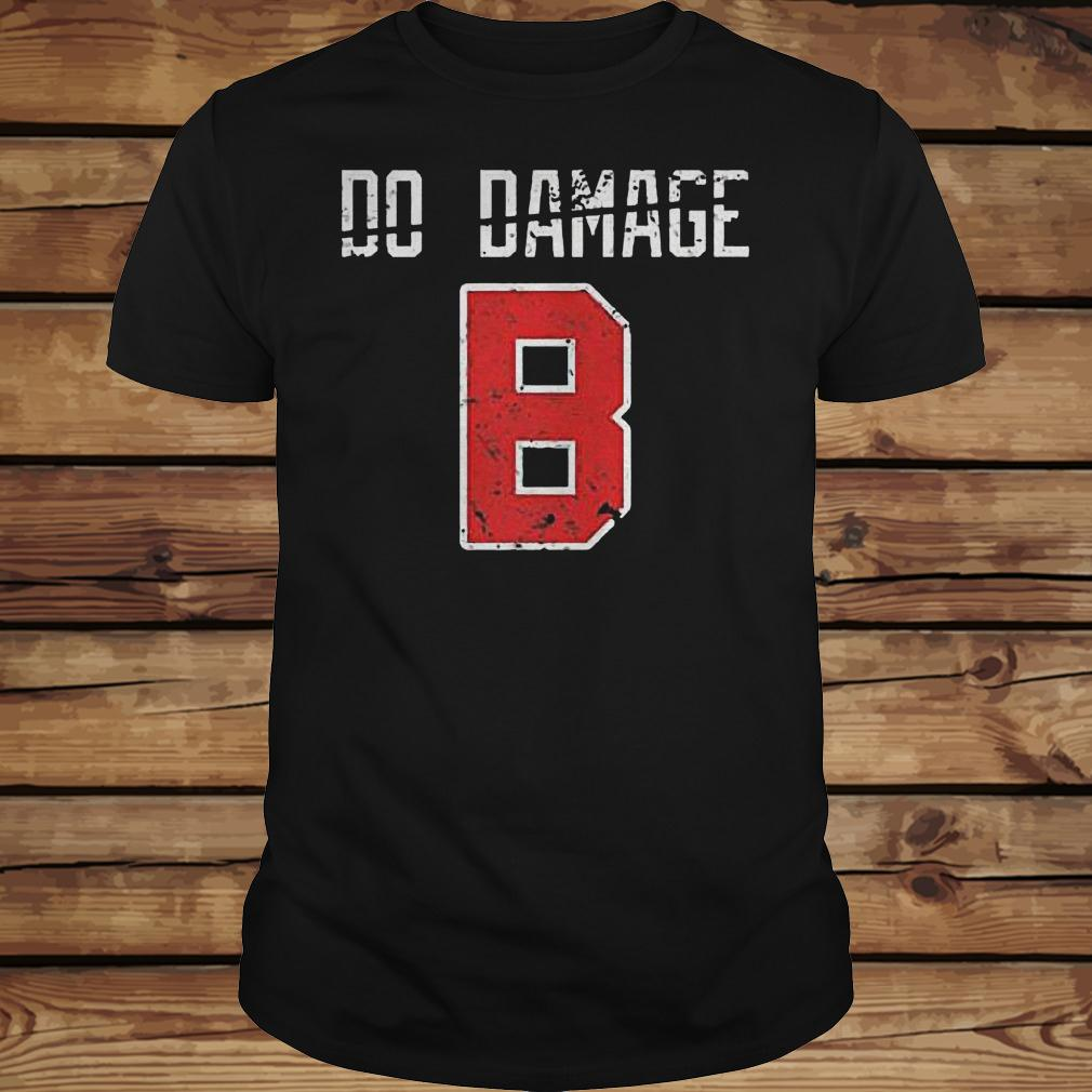 Do the damage Boston baseball shirt Classic Guys / Unisex Tee