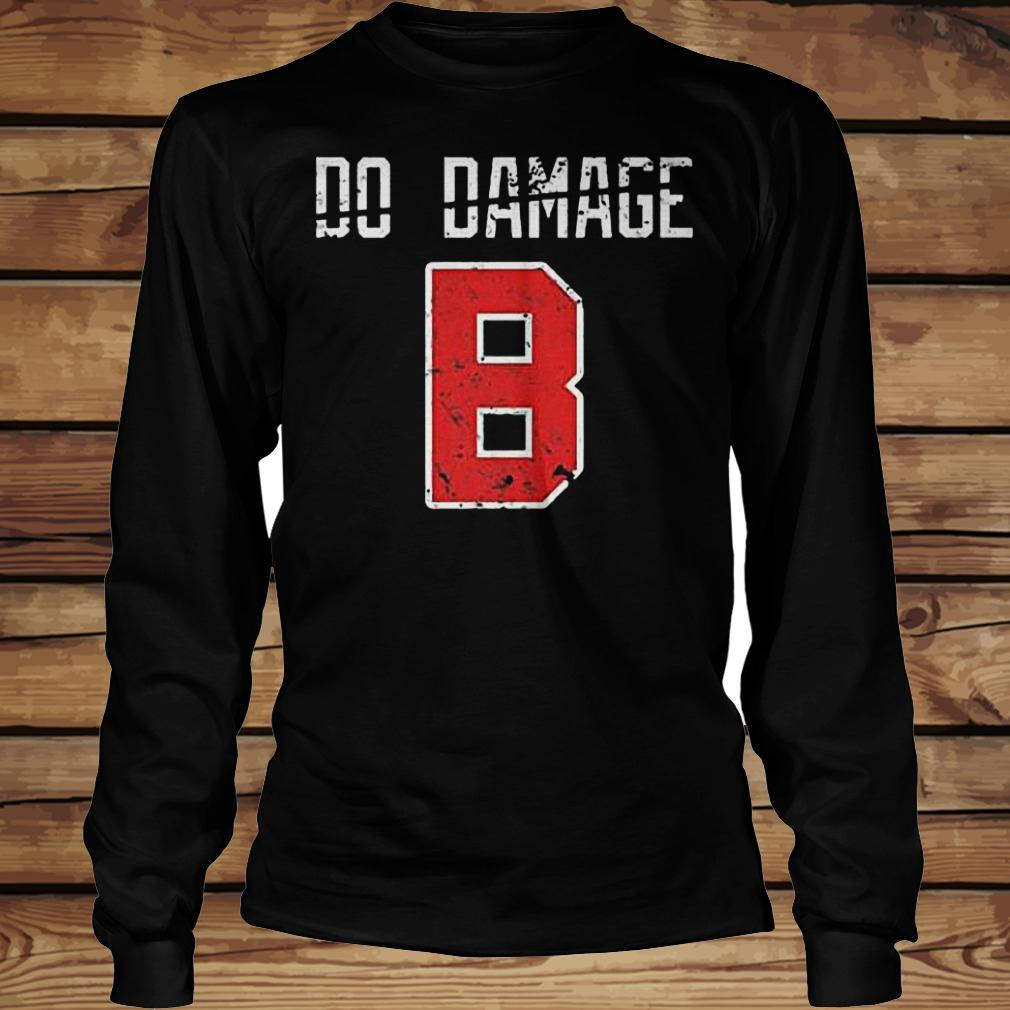 Do the damage Boston baseball shirt Longsleeve Tee Unisex