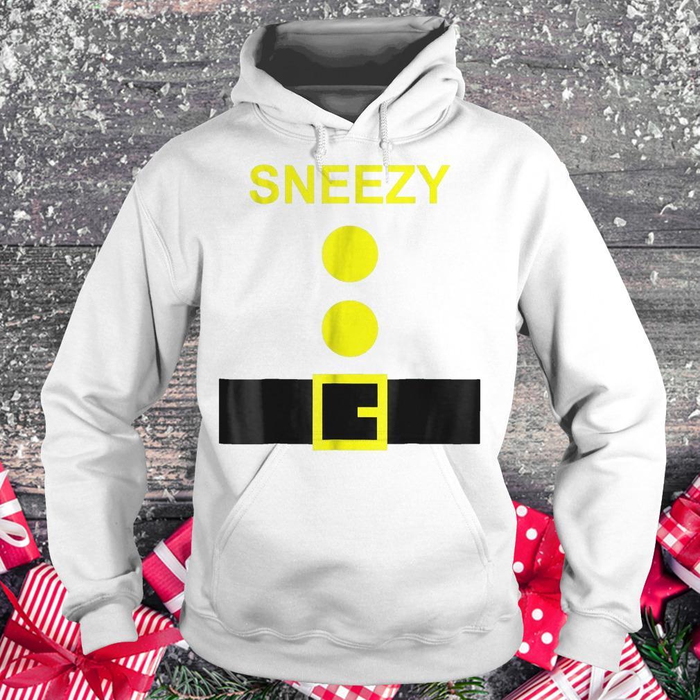 Dwarf Costume Sneezy funny Halloween shirt Hoodie