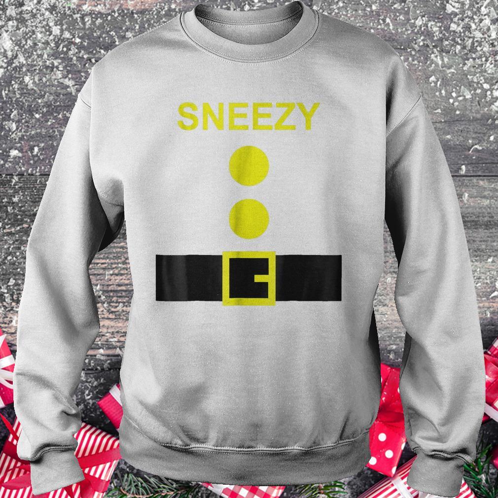 Dwarf Costume Sneezy funny Halloween shirt Sweatshirt Unisex