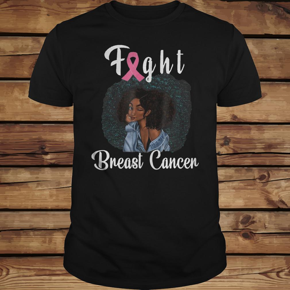 Fight Breast Cancer Awareness shirt Classic Guys / Unisex Tee