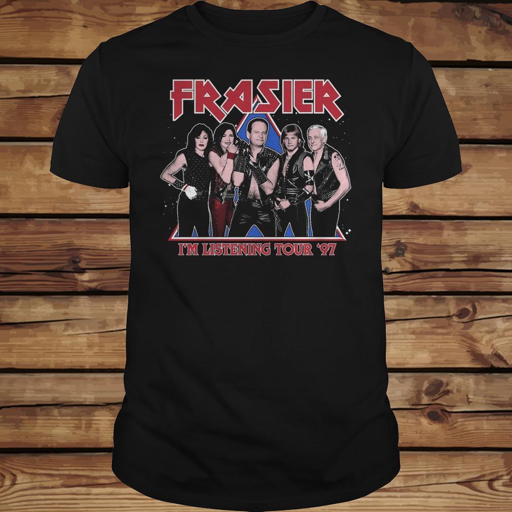 Frasier i'm listenning tour 97 shirt