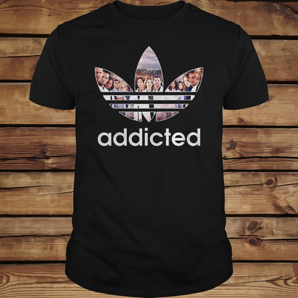 Grey's Anatomy Addicted shirt Classic Guys / Unisex Tee