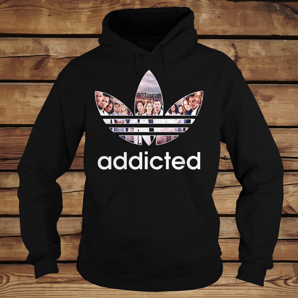 Grey's Anatomy Addicted shirt Hoodie