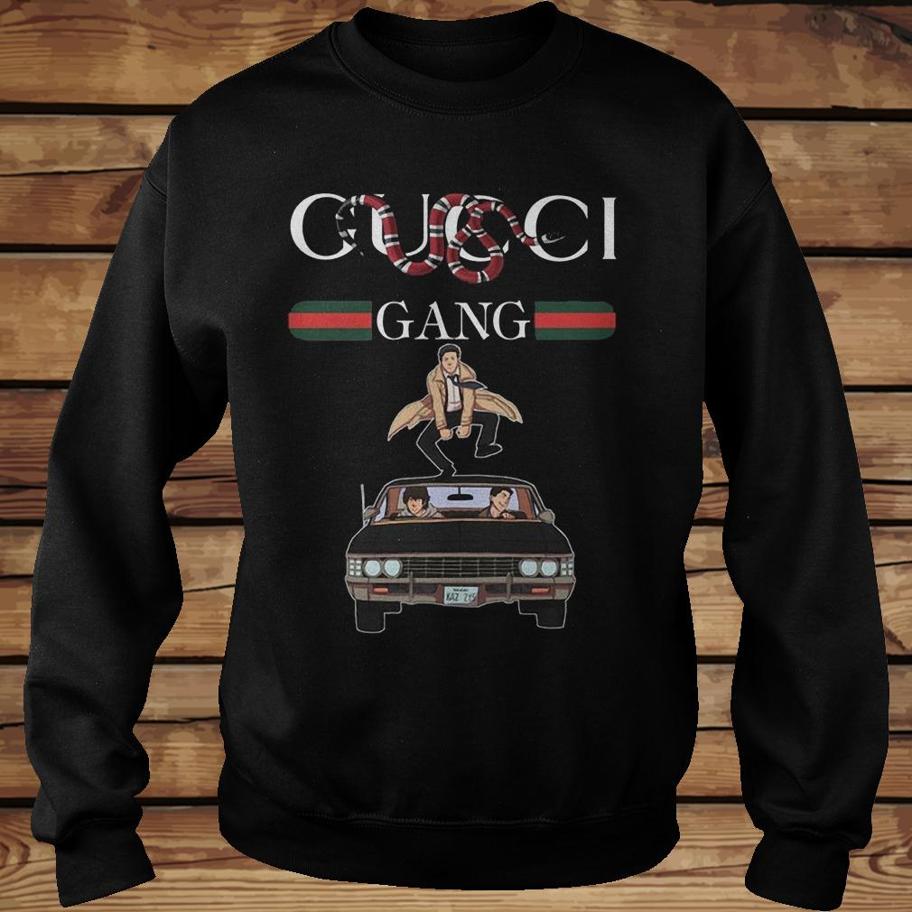 Gucci Gang Gucci Stripe Stay Stylish Supernatural Shirt Sweatshirt Unisex.jpg