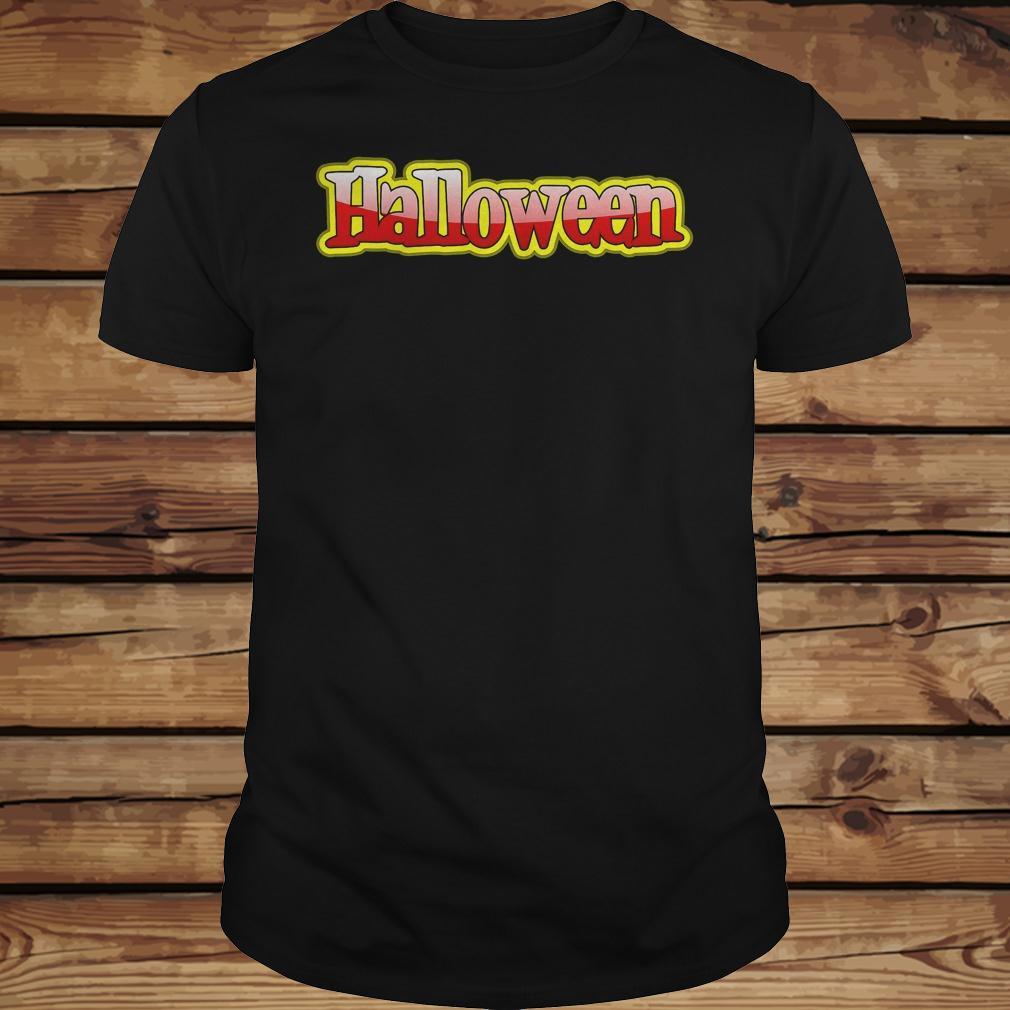 Halloween clipart text banner shirt