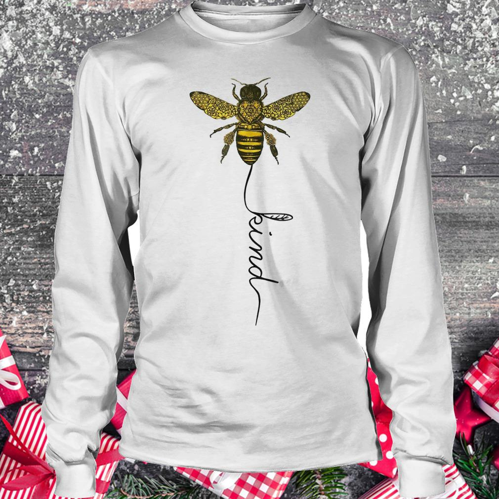 Happy bees kind for bees shirt Longsleeve Tee Unisex