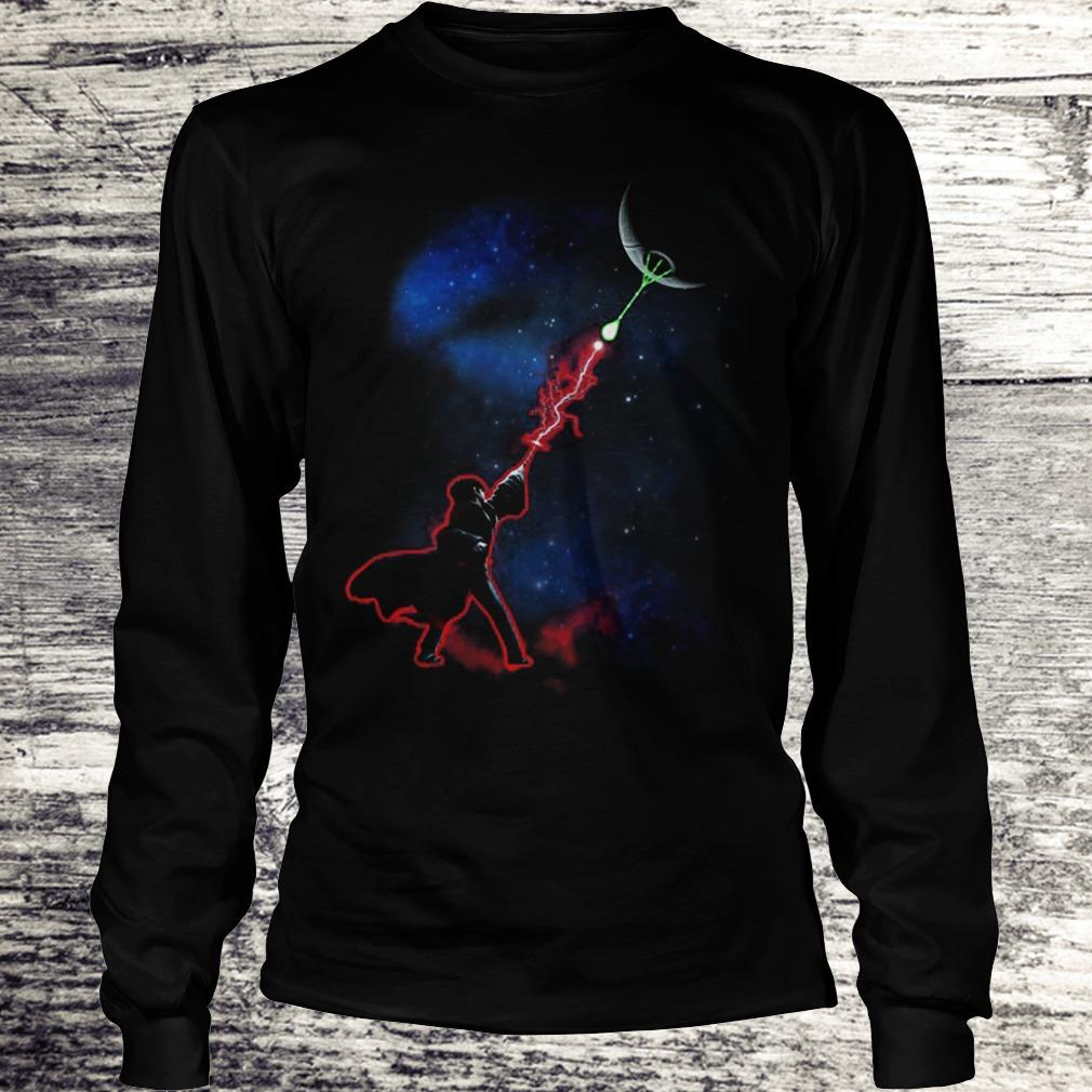 Harry Potter Death Star Mashup Star Wars Shirt Longsleeve Tee Unisex