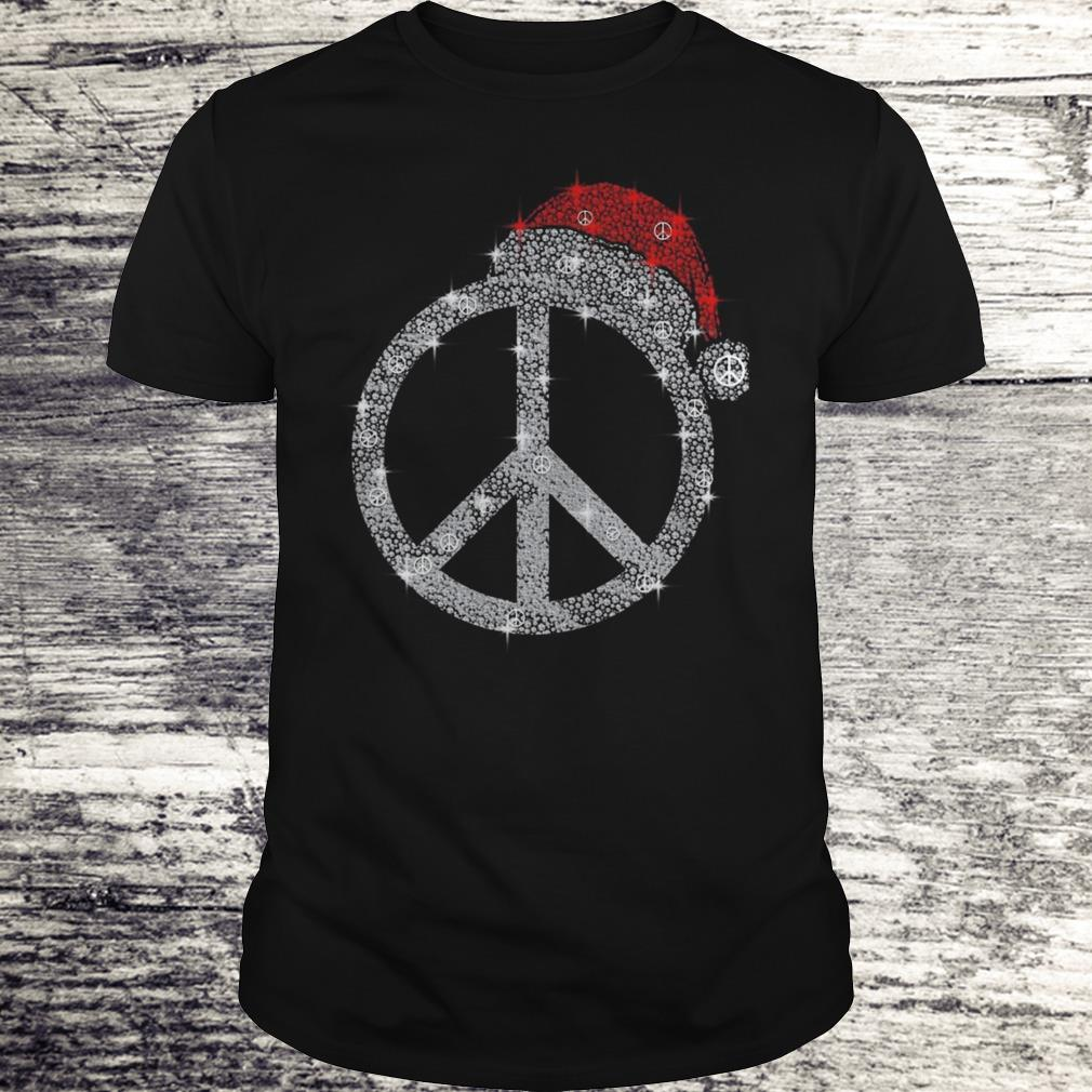 Hippie hat diamond Christmas Shirt Classic Guys / Unisex Tee